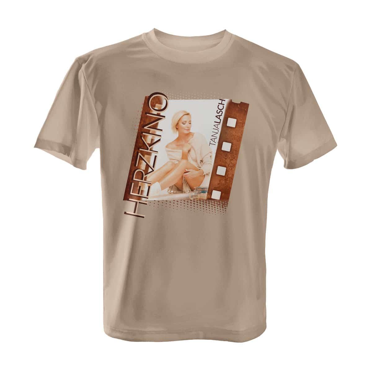Tanja Lasch Herzkino T-Shirt beige