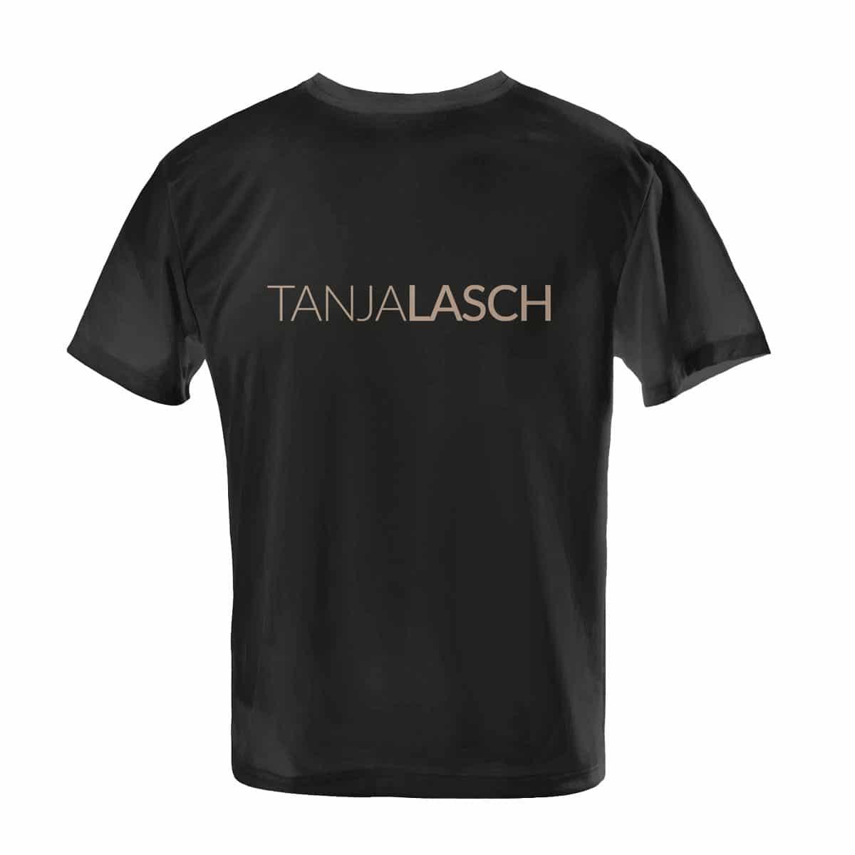 Tanja Lasch Herzkino T-Shirt schwarz