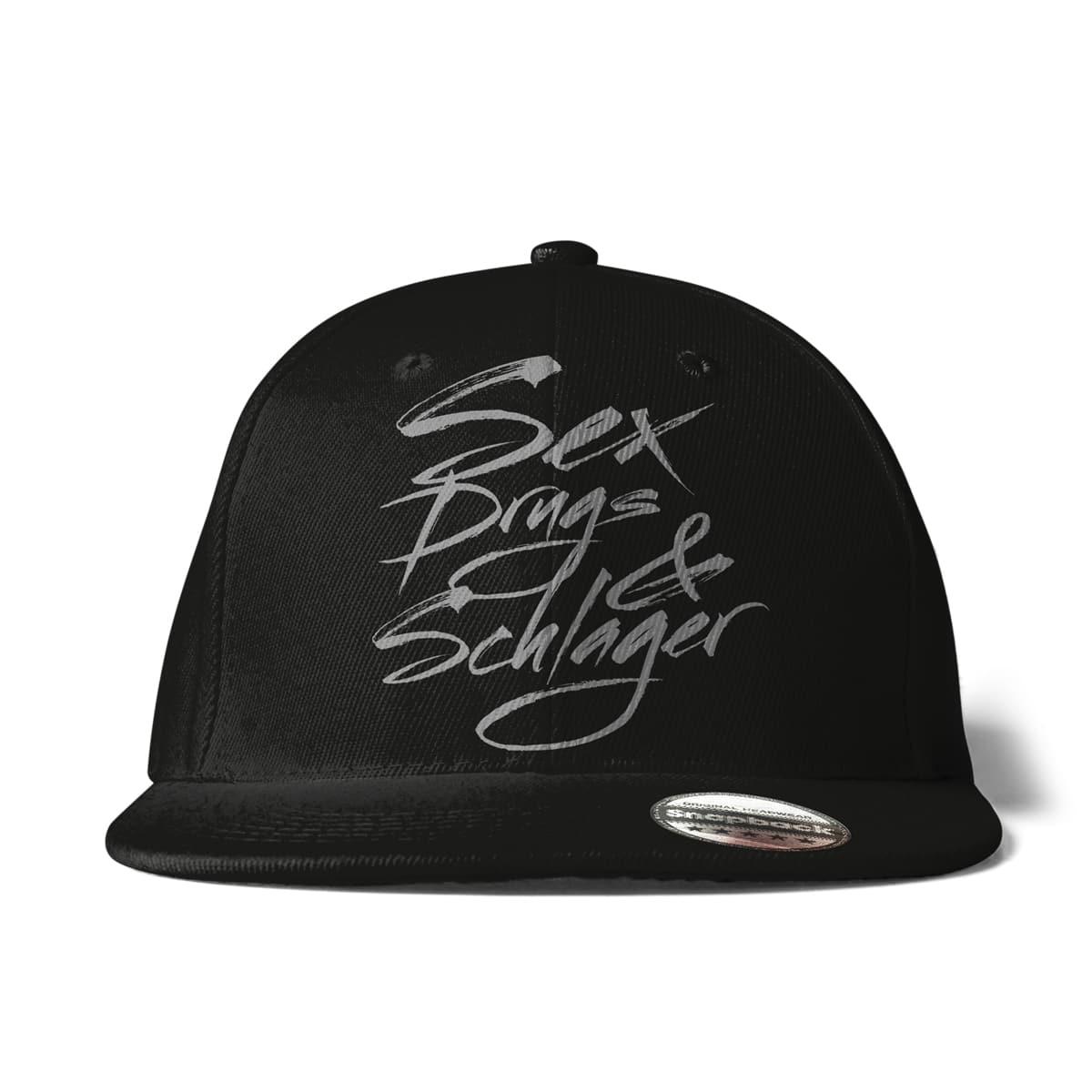Cap Snapback Sex, Drugs & Schlager schwarz - Schlagerfans24.de
