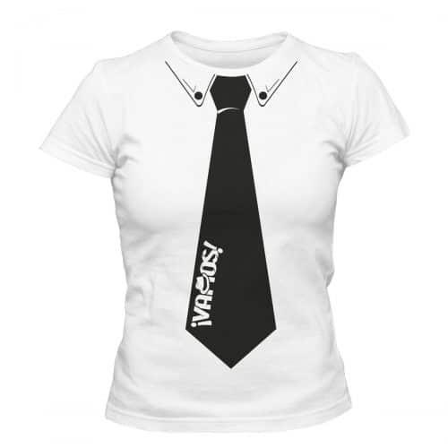 Vamos TShirt Damen Krawatte