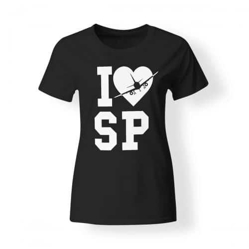 I love die Schlagerpiloten Damen T-Shirt
