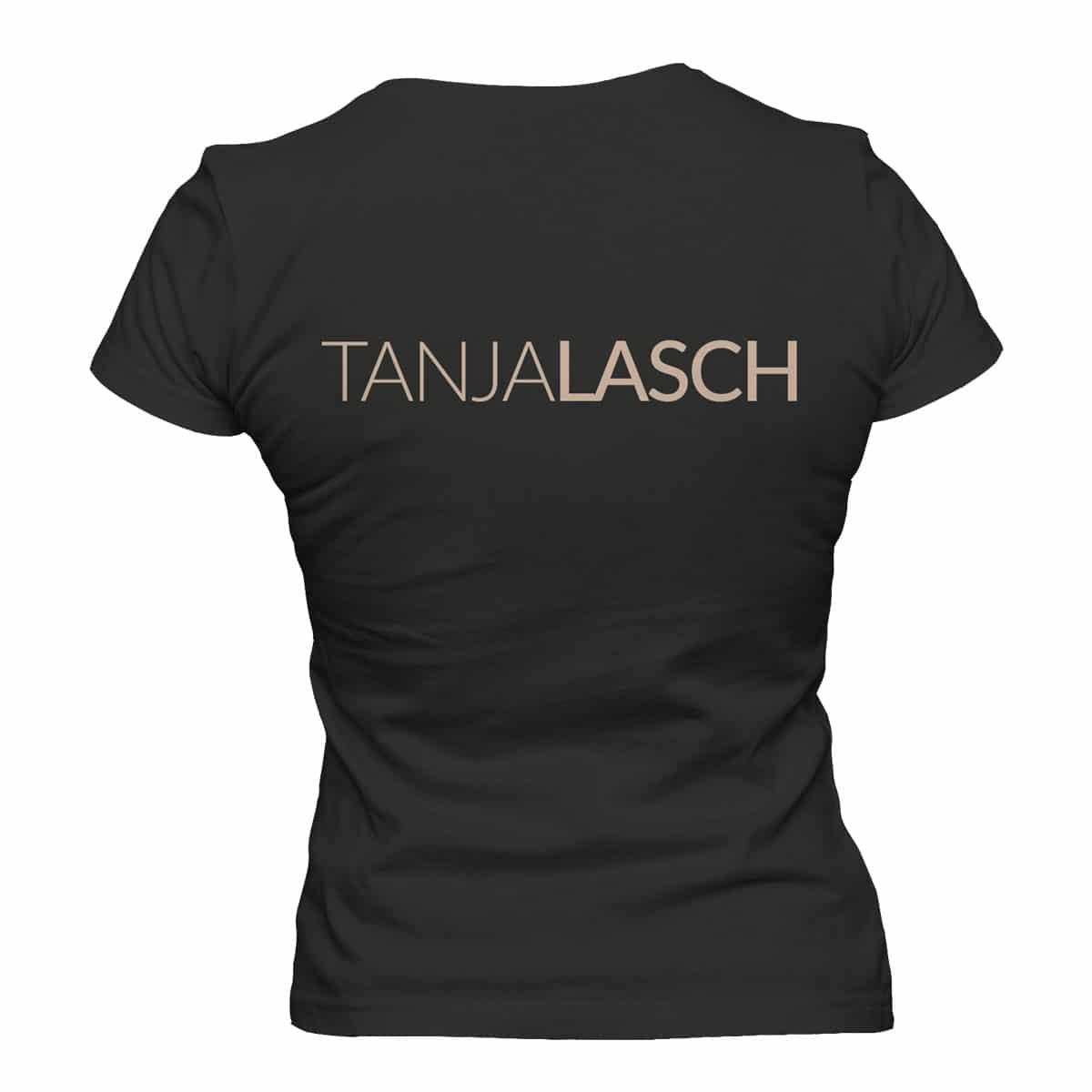 Tanja Lasch Herzkino TShirt schwarz Damen