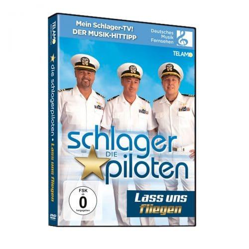 DVD Die Schlagerpiloten - Lass uns fliegen