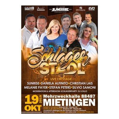 Schlagerstadl Mietingen 2019 Tickets