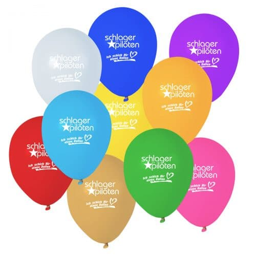 Ich schick Dir einen Ballon Set Die Schlagerpiloten