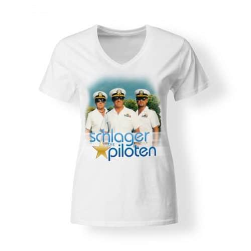 Die Schlagerpiloten Lass uns fliegen Tour Shirt Damen