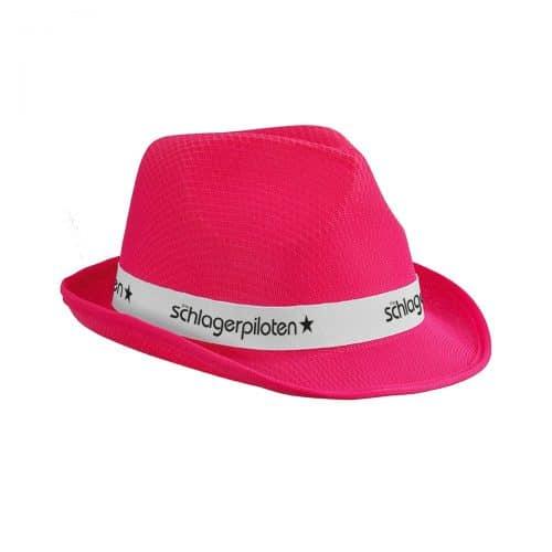 Schlagerpiloten Hut Pink