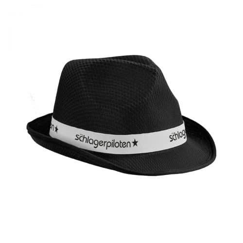 Schlagerpiloten Hut schwarz