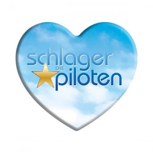 Magnet Button Schlagerpiloten 3er Set