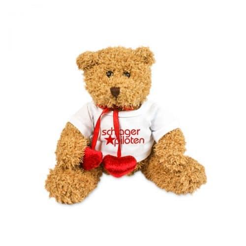 Teddybär mit Herz braun