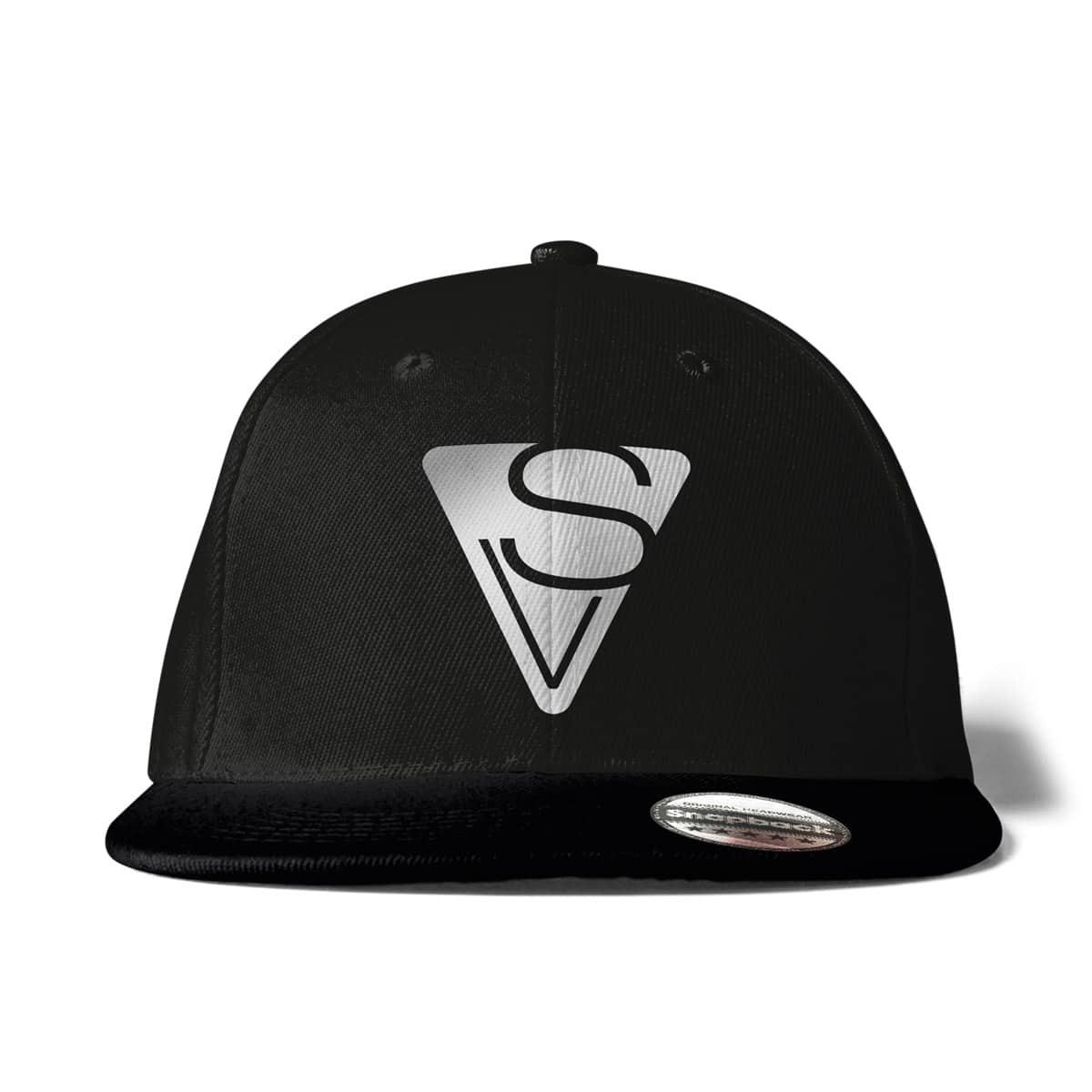 Cap Snapback Sophia Venus Logo schwarz