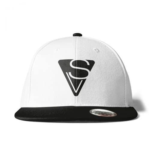 Cap Snapback Sophia Venus Logo weiss-schwarz