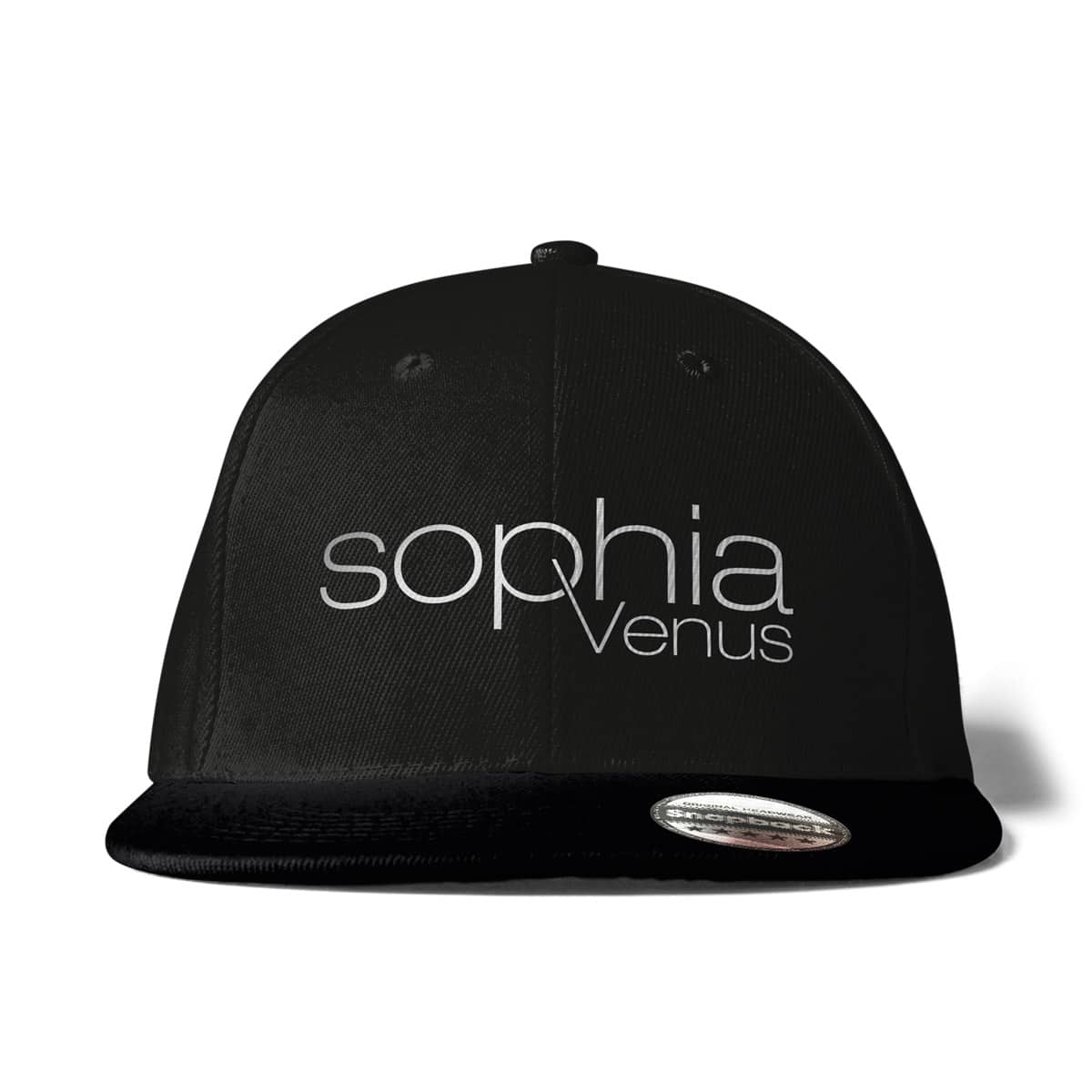 Cap Snapback Sophia Venus Schriftzug schwarz