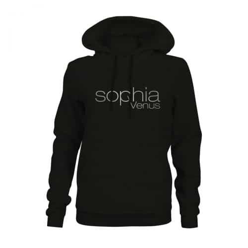 Hoodie Damen Sophia Venus schwarz