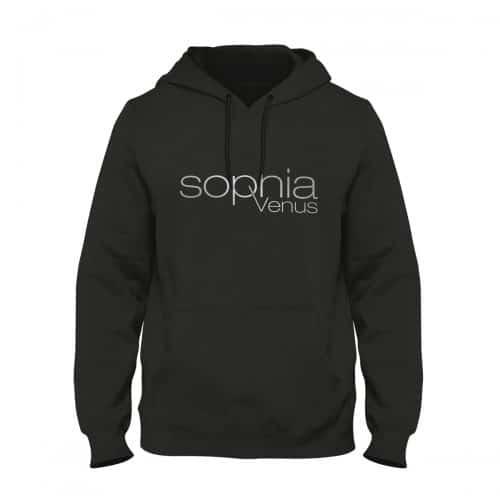 Hoodie Herren Sophia Venus schwarz