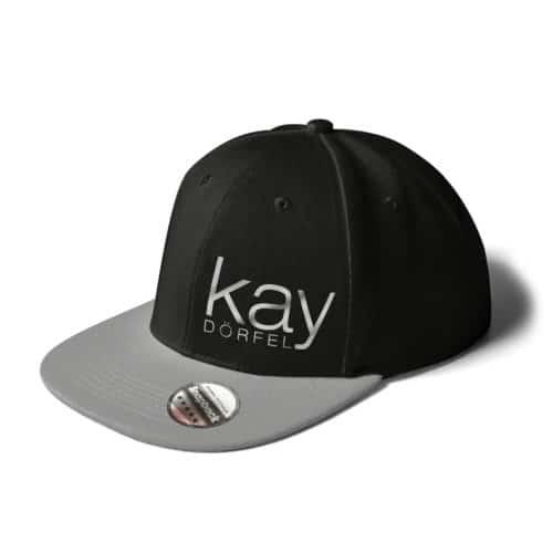 Cap Kay Dörfel schwarz-grau