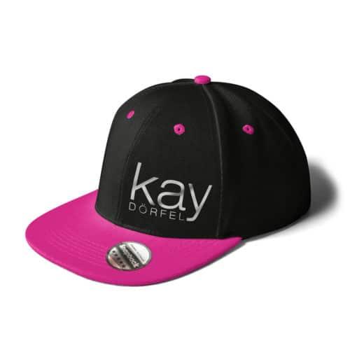 Cap Cay Dörfel schwarz pink