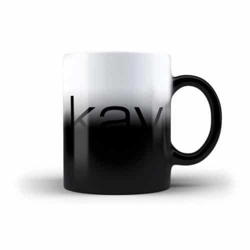 Farbwechsel Tasse Kay Dörfel Logo