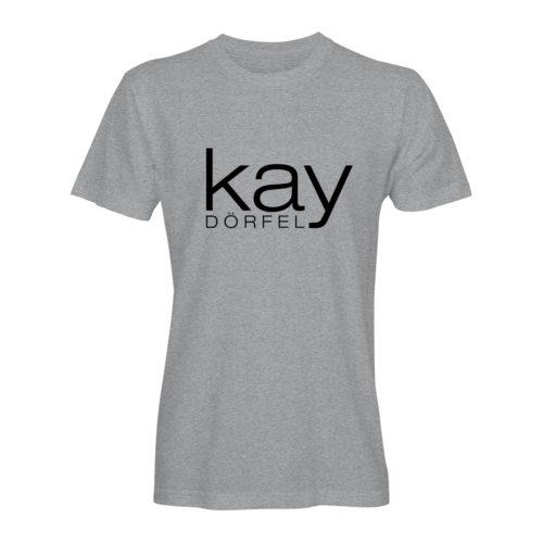 T-Shirt Herren Kay Dörfel grau