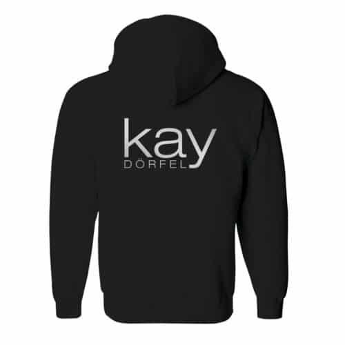 zip hoodie kay dörfel schwarz