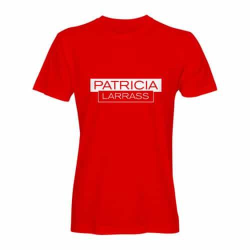 T Shirt Herren Patricia Larras rot