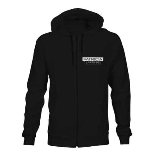 zip hoodie patricia larras schwarz