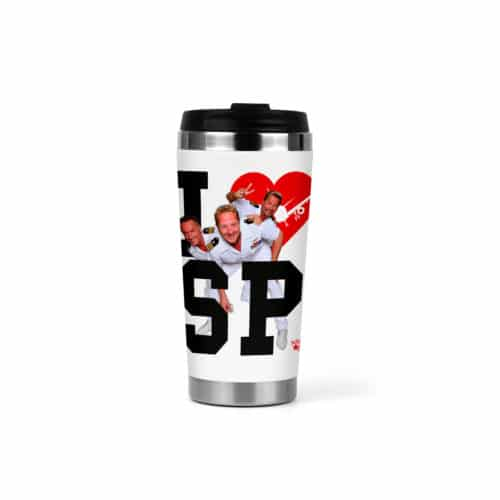 Schlagerpiloten To Go Becher I love SP