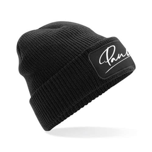 Mütze Pauline schwarz