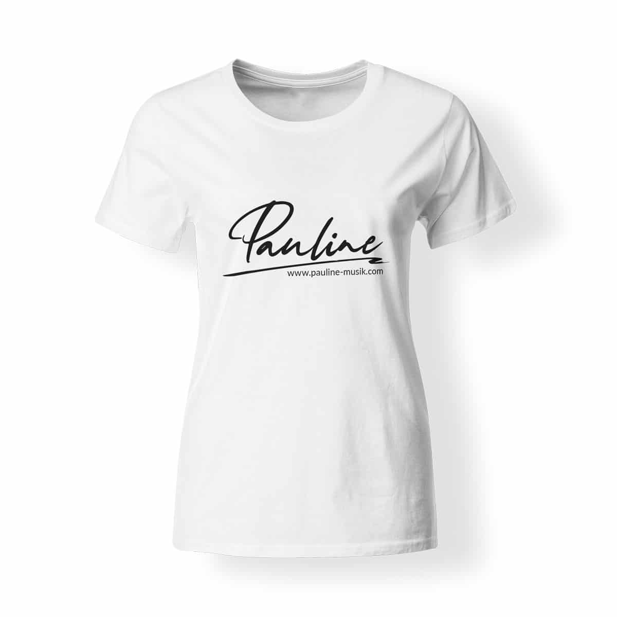T-Shirt Damen Pauline weiß