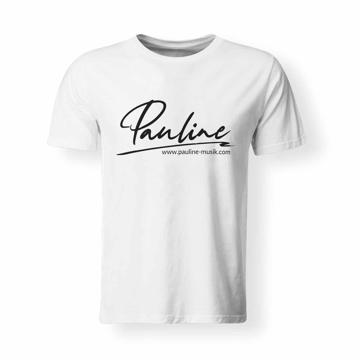 T-Shirt Herren Pauline weiss