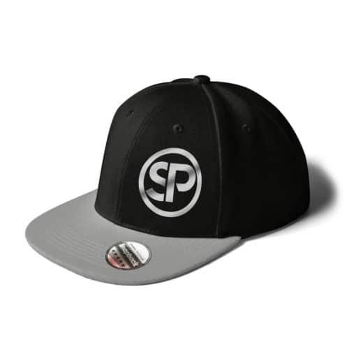 Cap Snapback Sven Polenz schwarz grau