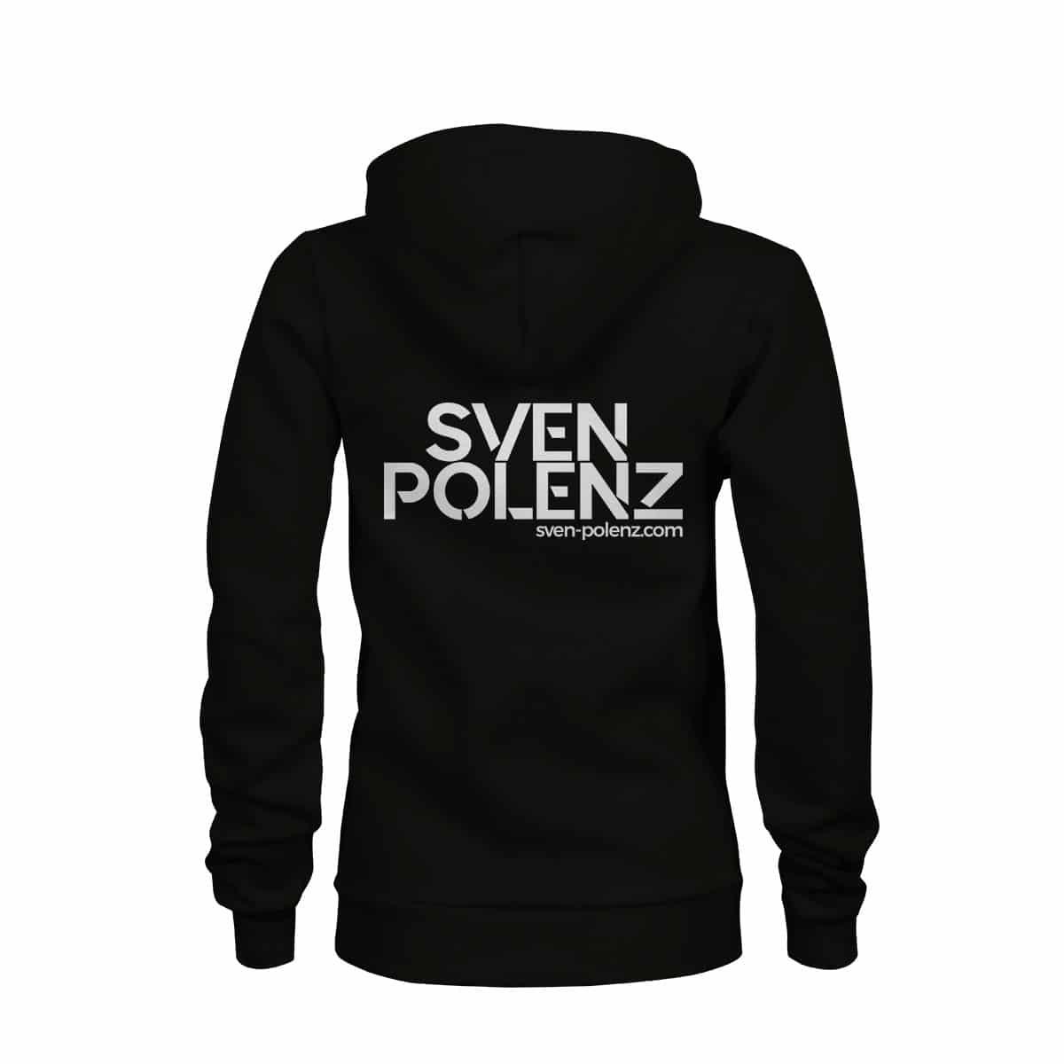 zip hoodie damen sven polenz schwearz