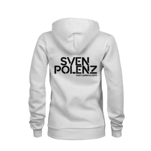 zip hoodie damen sven polenz weiß