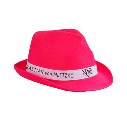 Sebastian von Mletzko Hut pink