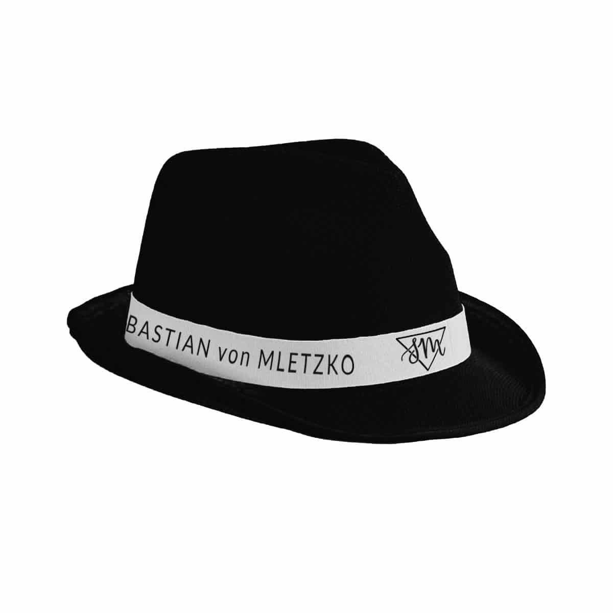Sebastian von Mletzko Hut schwarz