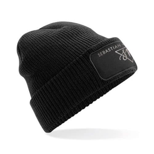 Sebastian von Mletzko mütze schwarz
