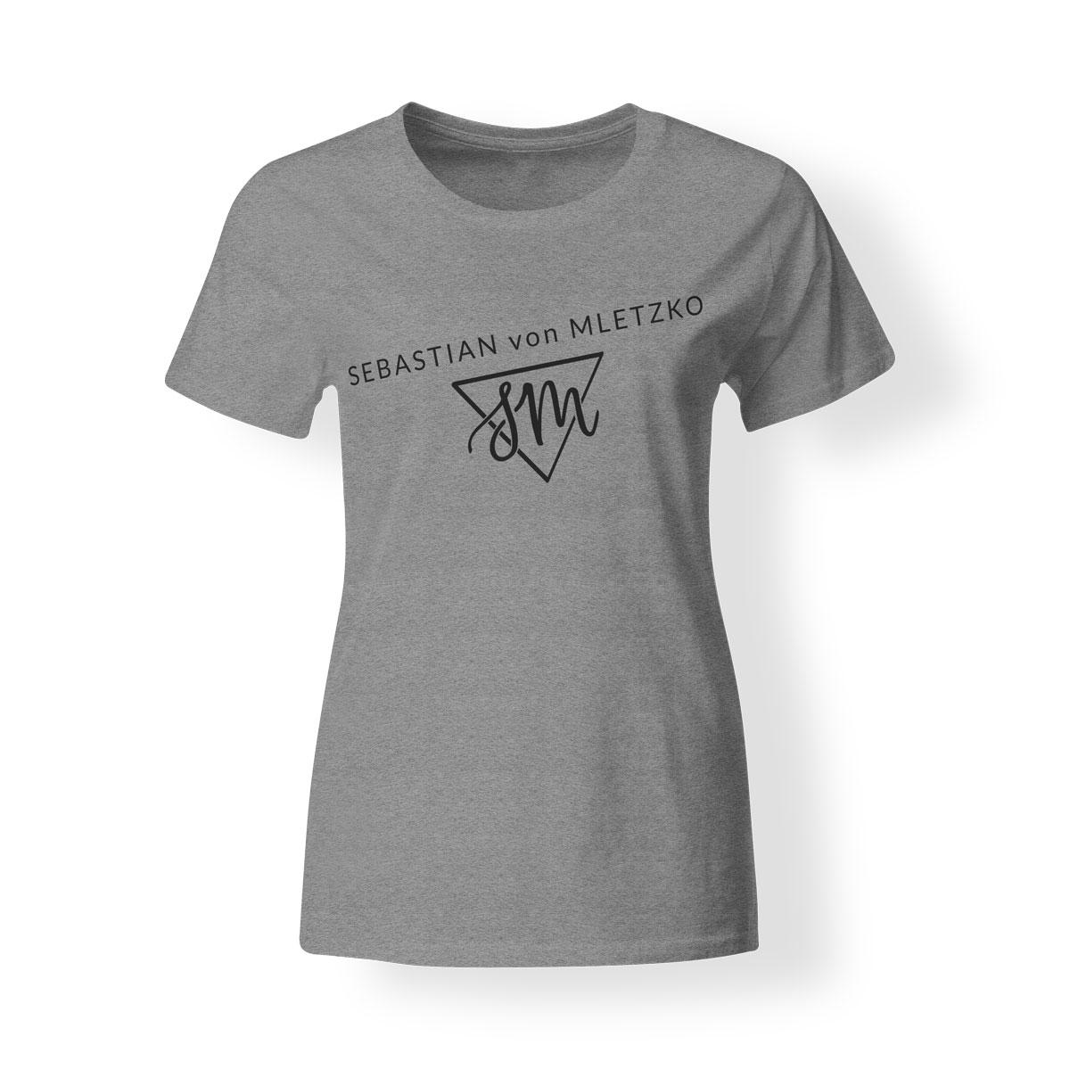 Sebastian von Mletzko T-Shirt Damen grau
