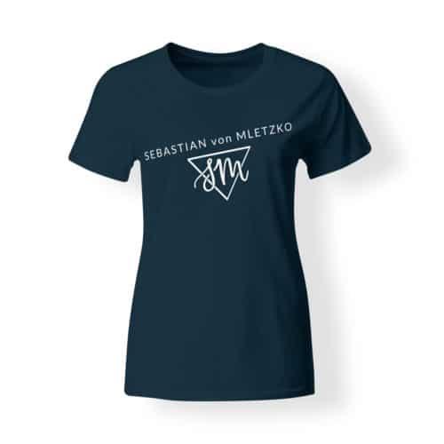 Sebastian von Mletzko T-Shirt Damen navy