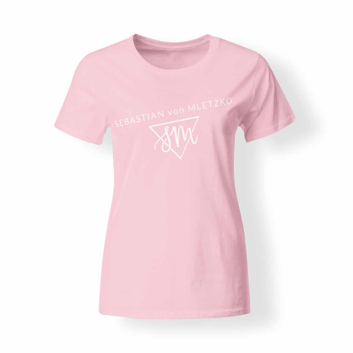 Sebastian von Mletzko T-Shirt Damen rosa