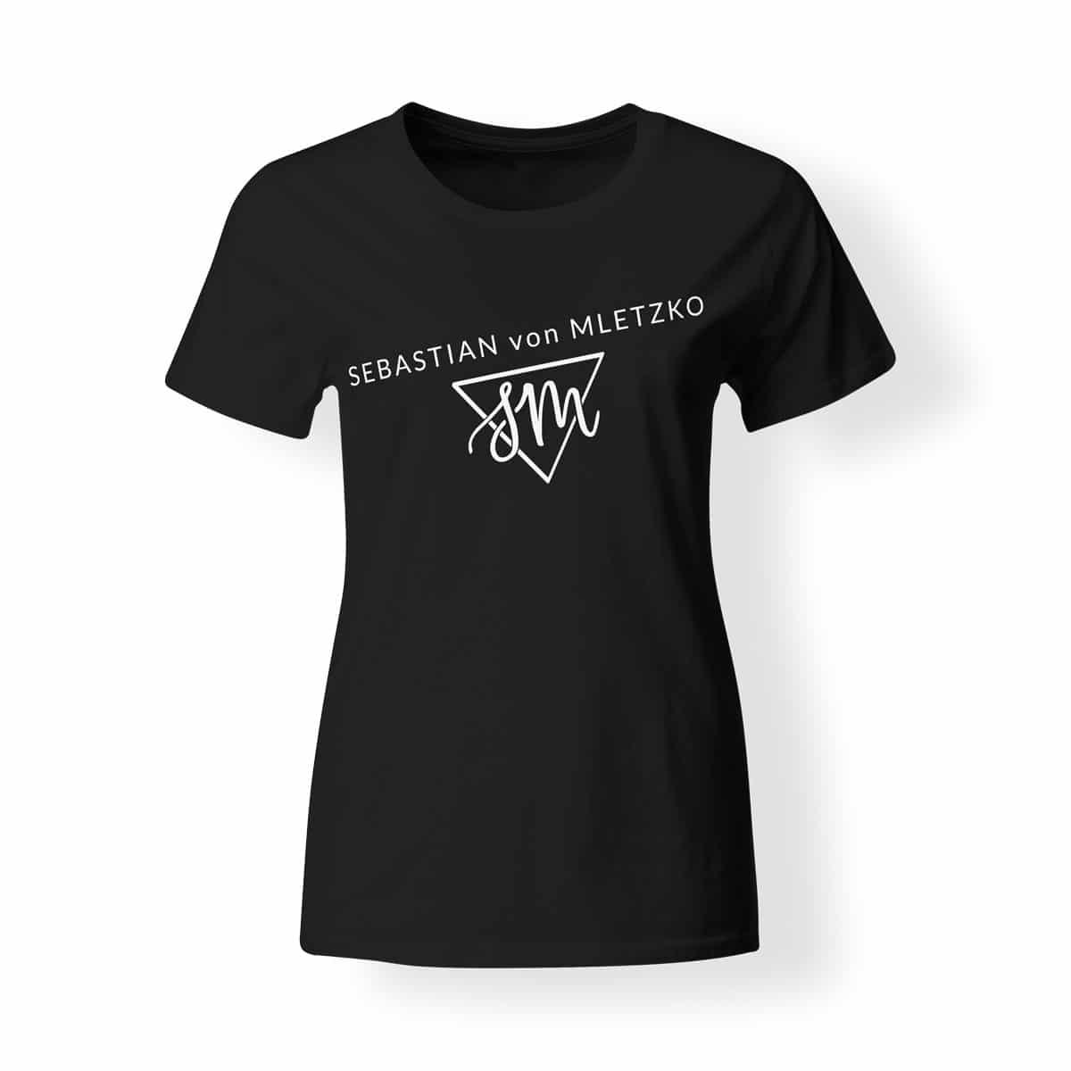 Sebastian von Mletzko T-Shirt Damen schwarz