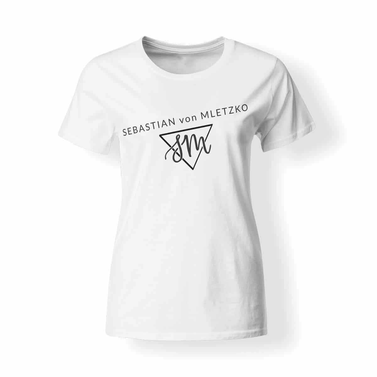 Sebastian von Mletzko T-Shirt Damen weiss