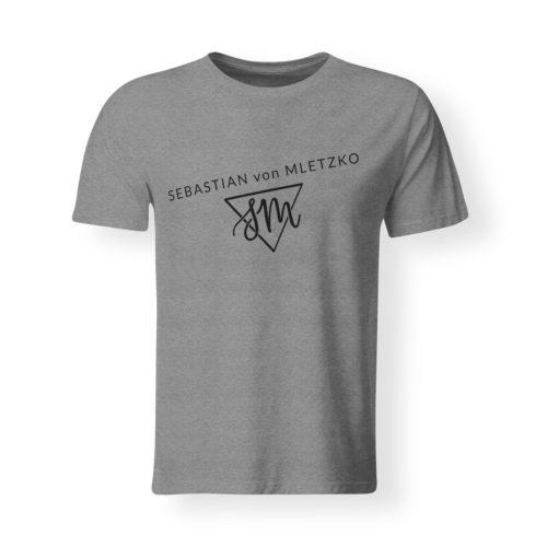 Sebastian von Mletzko T-Shirt Herren grau