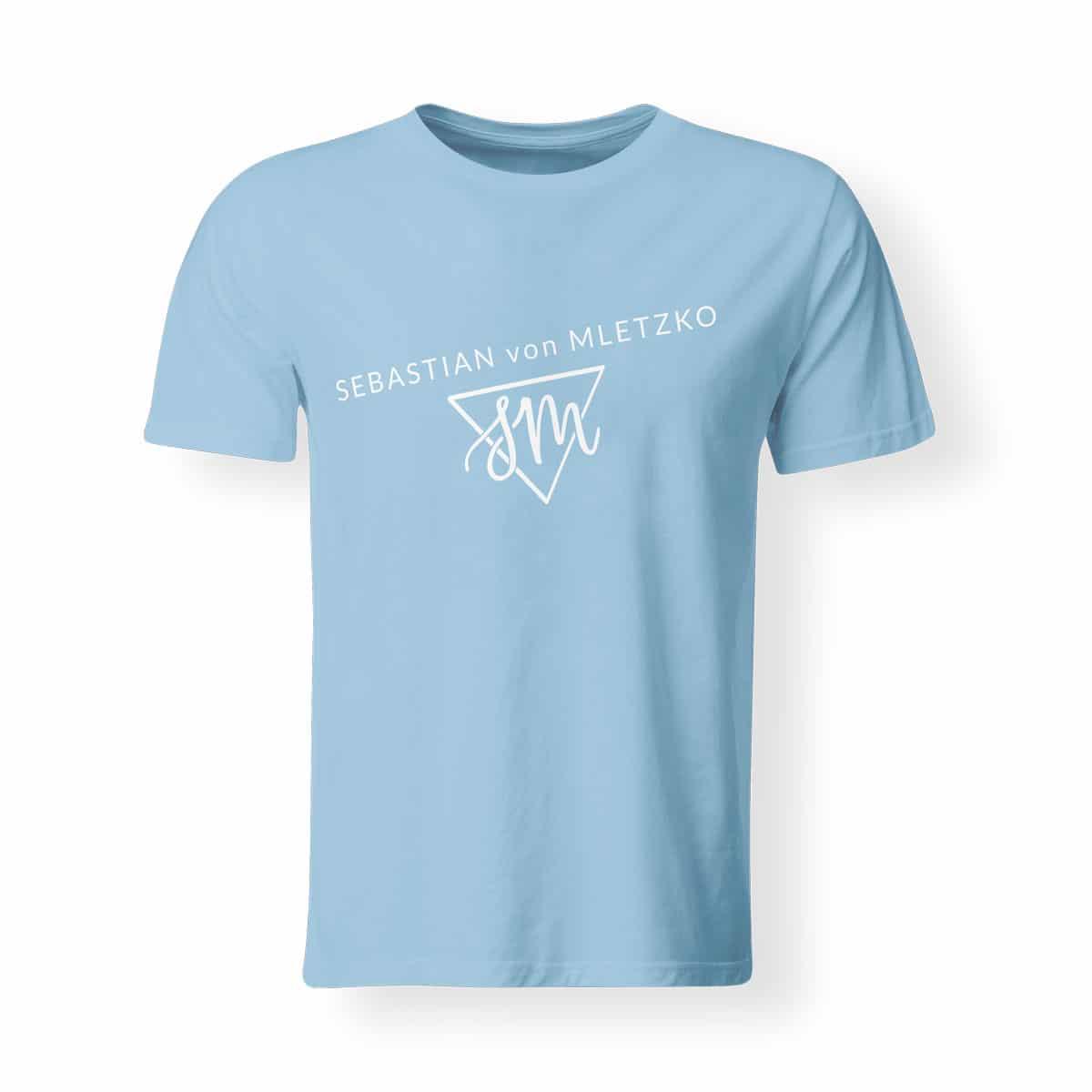Sebastian von Mletzko T-Shirt Herren hellblau