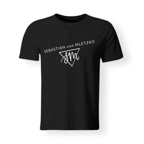 Sebastian von Mletzko T-Shirt Herren schwarz