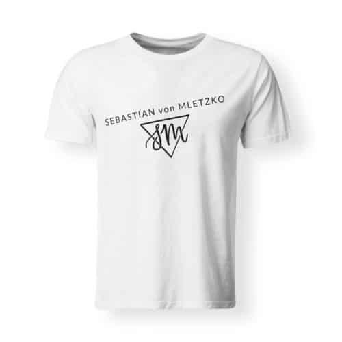 Sebastian von Mletzko T-Shirt Herren weiss