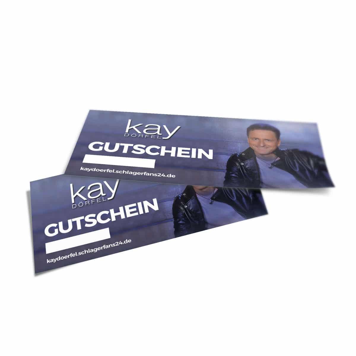 Geschenk Gutschein Kay Dörfel