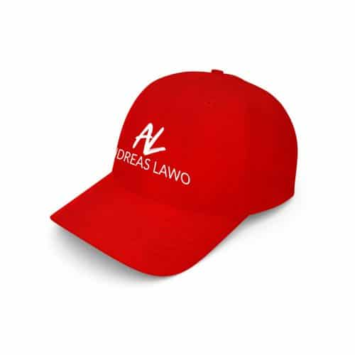 Andreas Lawo Baseball Cap rot Logo