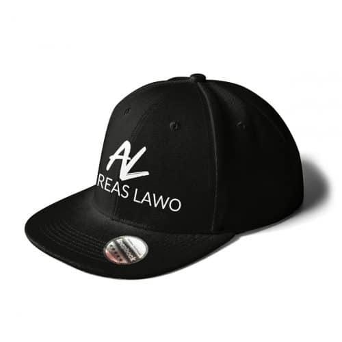 Andreas Lawo Cap Snapback schwarz Logo