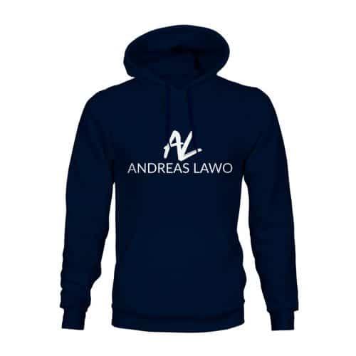 Andreas Lawo Hoodie Unisex navy