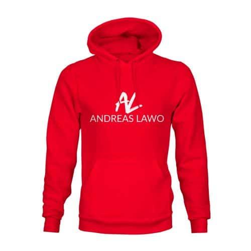 Andreas Lawo Hoodie Unisex rot